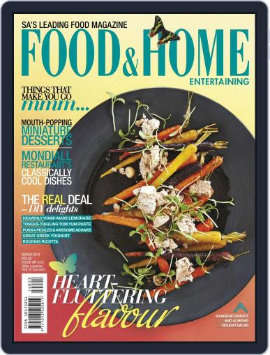 Food & Home Entertaining (Digital) February 9th, 2014 Issue Cover