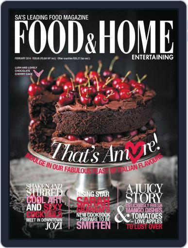 Food & Home Entertaining (Digital) January 6th, 2014 Issue Cover