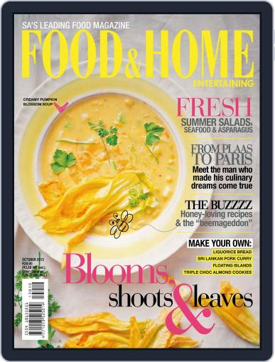 Food & Home Entertaining (Digital) September 15th, 2013 Issue Cover