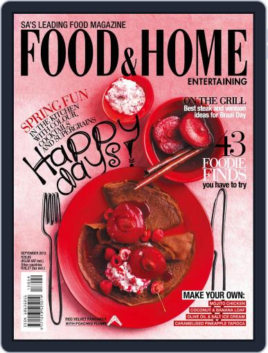 Food & Home Entertaining (Digital) August 11th, 2013 Issue Cover