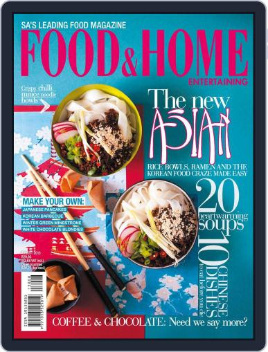 Food & Home Entertaining (Digital) July 14th, 2013 Issue Cover