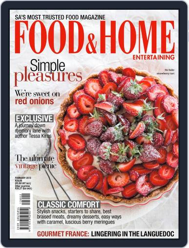 Food & Home Entertaining January 13th, 2013 Digital Back Issue Cover