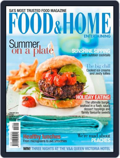 Food & Home Entertaining (Digital) December 9th, 2012 Issue Cover