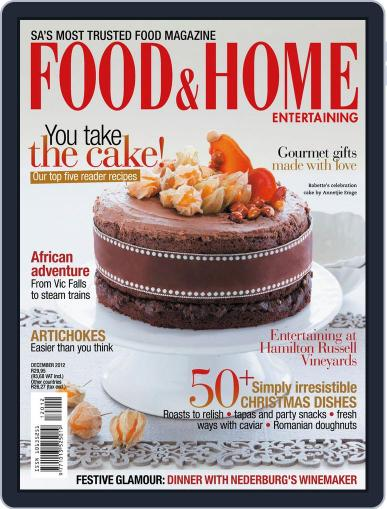 Food & Home Entertaining (Digital) November 11th, 2012 Issue Cover