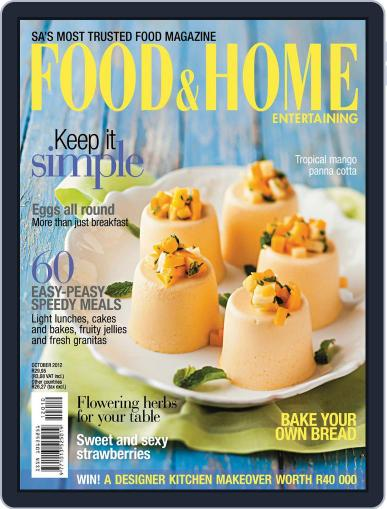 Food & Home Entertaining September 10th, 2012 Digital Back Issue Cover