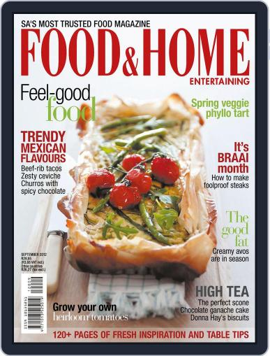 Food & Home Entertaining August 12th, 2012 Digital Back Issue Cover