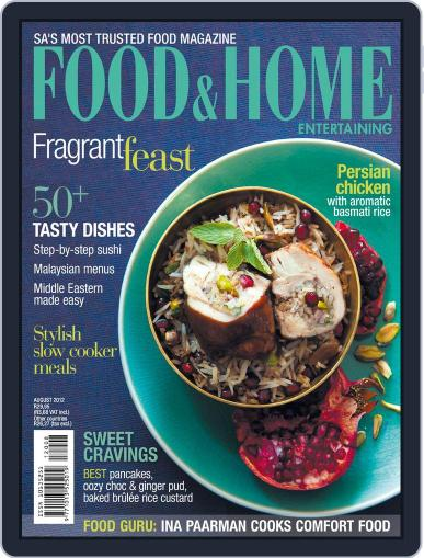 Food & Home Entertaining (Digital) July 15th, 2012 Issue Cover