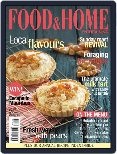 Food & Home Entertaining (Digital) June 19th, 2012 Issue Cover