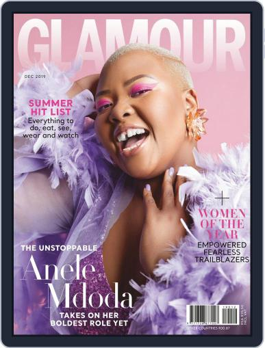 Glamour South Africa December 1st, 2019 Digital Back Issue Cover