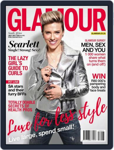 Glamour South Africa July 1st, 2017 Digital Back Issue Cover