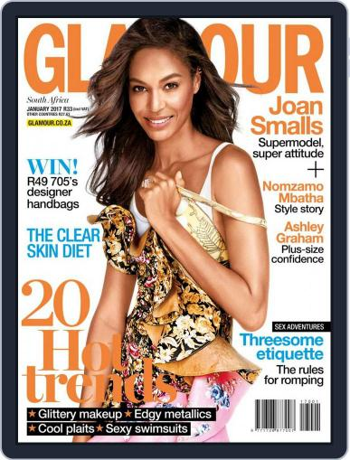 Glamour South Africa January 1st, 2017 Digital Back Issue Cover