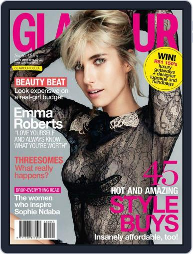 Glamour South Africa (Digital) June 20th, 2016 Issue Cover
