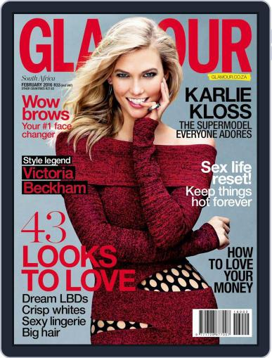 Glamour South Africa (Digital) January 20th, 2016 Issue Cover