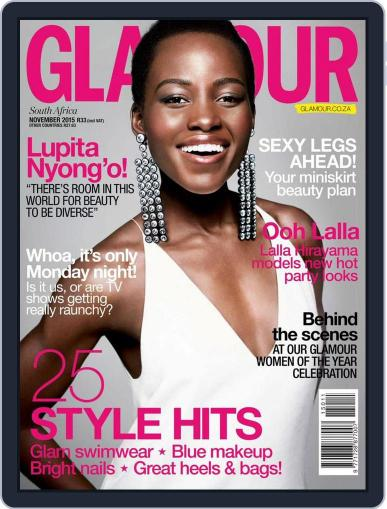 Glamour South Africa (Digital) October 18th, 2015 Issue Cover
