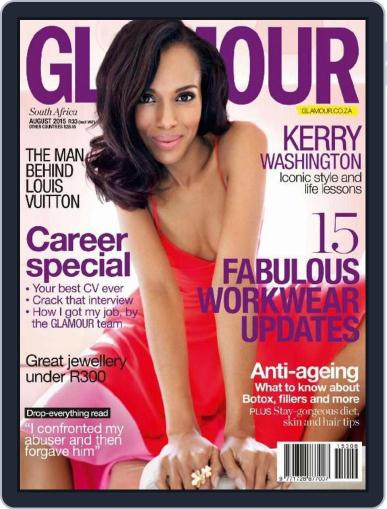 Glamour South Africa July 20th, 2015 Digital Back Issue Cover