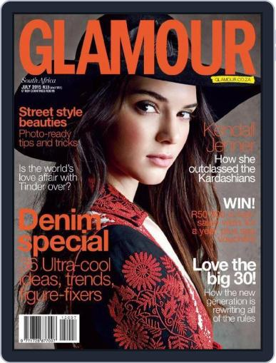 Glamour South Africa June 22nd, 2015 Digital Back Issue Cover