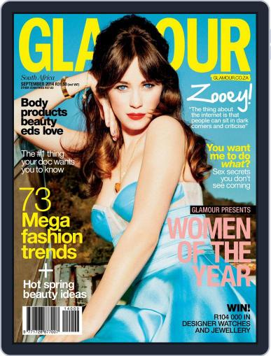 Glamour South Africa (Digital) August 27th, 2014 Issue Cover