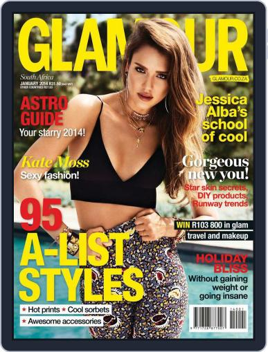Glamour South Africa (Digital) December 17th, 2013 Issue Cover