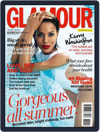 Glamour South Africa (Digital) October 23rd, 2013 Issue Cover
