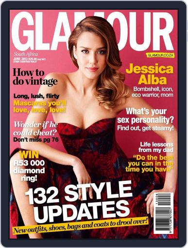 Glamour South Africa May 21st, 2013 Digital Back Issue Cover