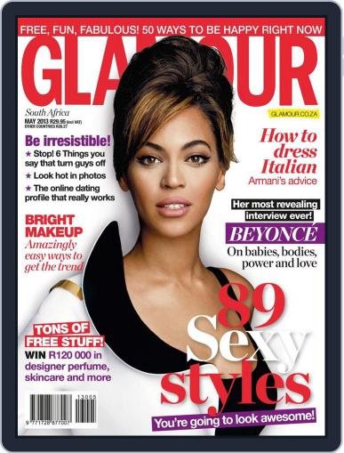 Glamour South Africa (Digital) April 19th, 2013 Issue Cover