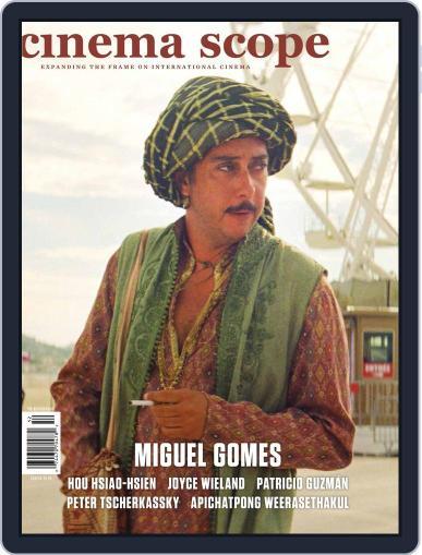 Cinema Scope June 1st, 2015 Digital Back Issue Cover