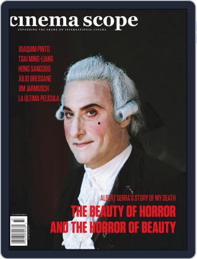 Cinema Scope September 20th, 2013 Digital Back Issue Cover