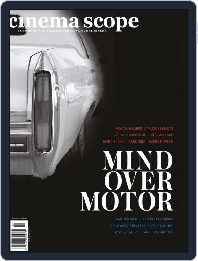 Cinema Scope (Digital) June 26th, 2012 Issue Cover