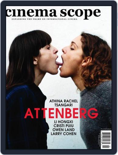 Cinema Scope December 17th, 2010 Digital Back Issue Cover