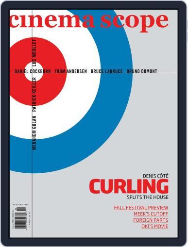 Cinema Scope (Digital) September 15th, 2010 Issue Cover