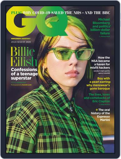 British GQ (Digital) July 1st, 2020 Issue Cover