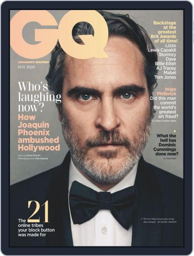 British GQ (Digital) May 1st, 2020 Issue Cover