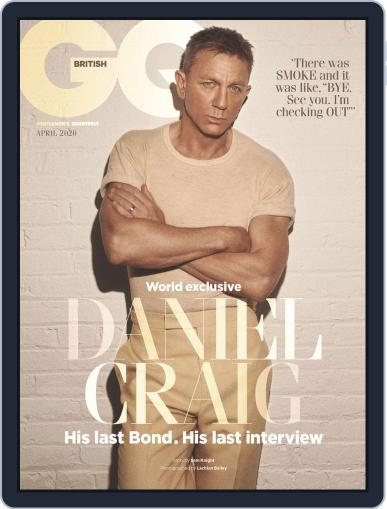 British GQ (Digital) April 1st, 2020 Issue Cover