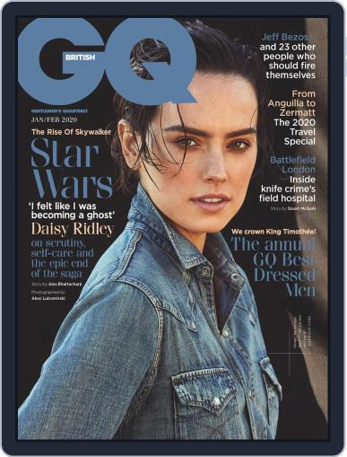 British GQ (Digital) January 1st, 2020 Issue Cover