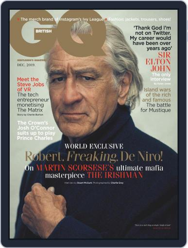 British GQ (Digital) December 1st, 2019 Issue Cover