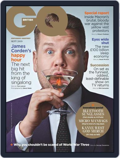 British GQ (Digital) September 1st, 2019 Issue Cover
