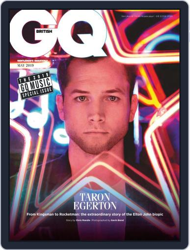 British GQ May 1st, 2019 Digital Back Issue Cover