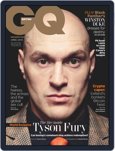 British GQ (Digital) April 1st, 2019 Issue Cover