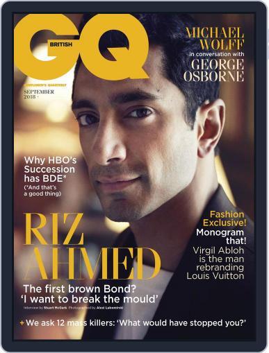 British GQ (Digital) September 1st, 2018 Issue Cover