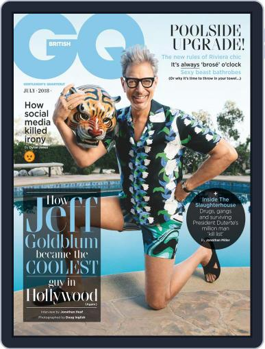 British GQ (Digital) July 1st, 2018 Issue Cover