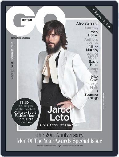 British GQ (Digital) October 1st, 2017 Issue Cover