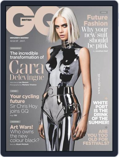 British GQ (Digital) August 1st, 2017 Issue Cover