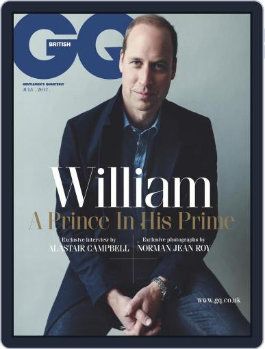 British GQ July 1st, 2017 Digital Back Issue Cover