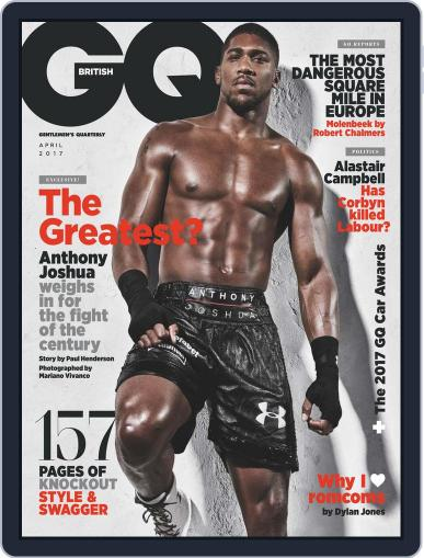British GQ (Digital) April 1st, 2017 Issue Cover