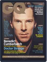 British GQ (Digital) Subscription November 1st, 2016 Issue