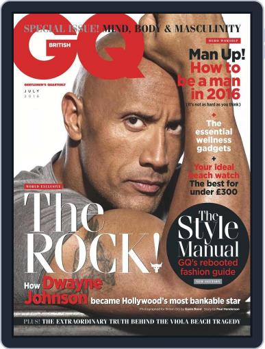 British GQ (Digital) June 2nd, 2016 Issue Cover