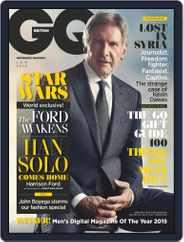 British GQ (Digital) Subscription December 7th, 2015 Issue
