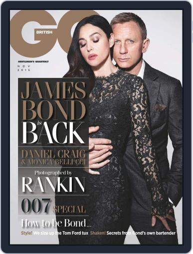 British GQ (Digital) October 8th, 2015 Issue Cover