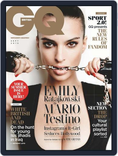 British GQ (Digital) August 6th, 2015 Issue Cover