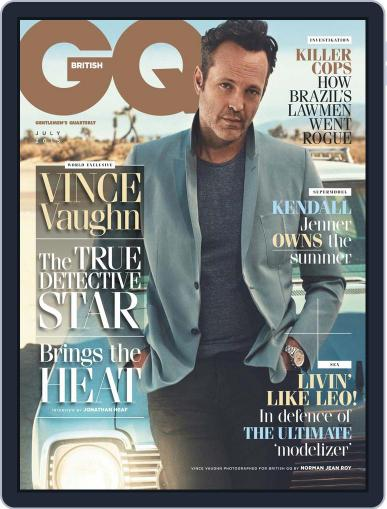 British GQ (Digital) July 1st, 2015 Issue Cover